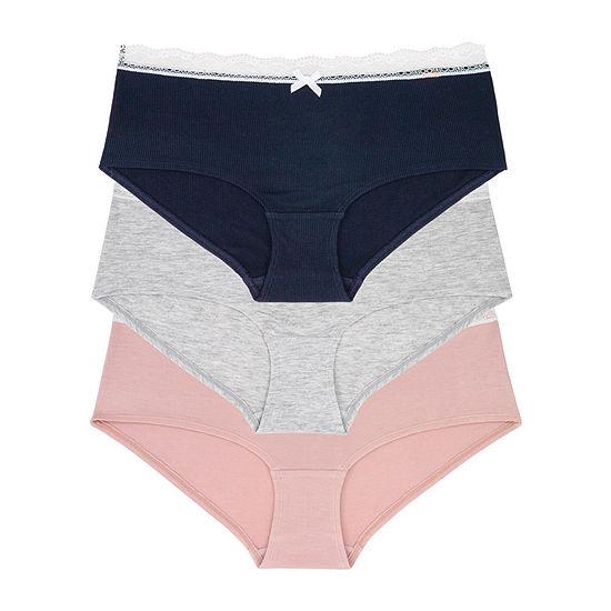 Dorina Gina 3 Pair Lace Boyshort Panty D01616y