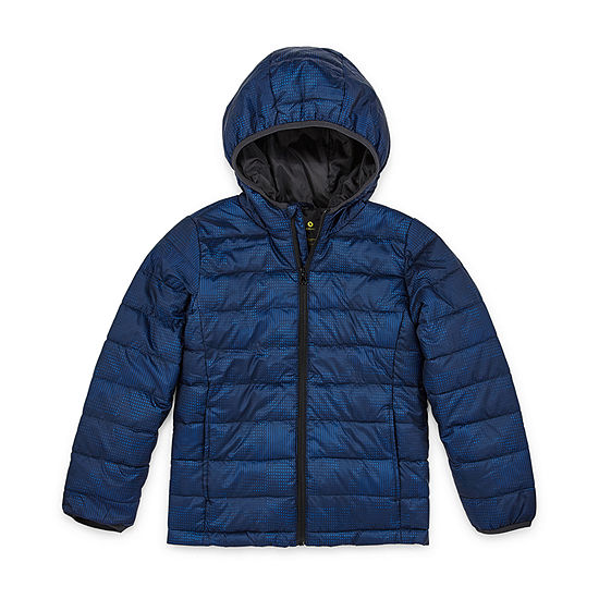 Xersion - Boys Lightweight Puffer Jacket Preschool / Big Kid