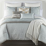 JCPenney Home Mayer 10-pc. Jacquard Comforter Set
