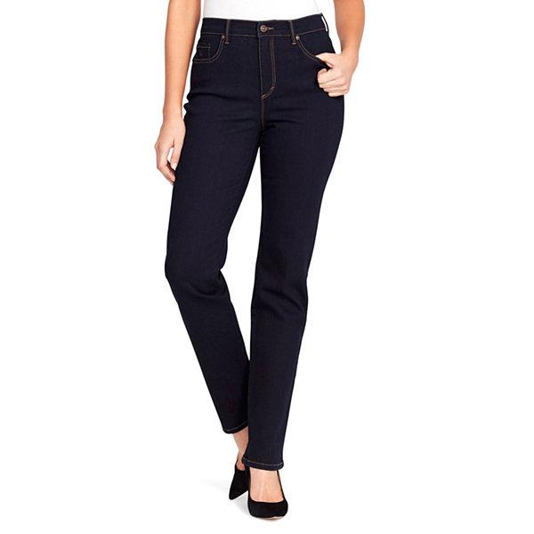 Gloria Vanderbilt Petite Amanda Straight Leg Jeans
