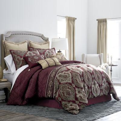 JCPenney Home Carson 7-pc. Jacquard Comforter Set