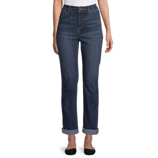 St. John's Bay - Tall Womens Straight Leg Jean