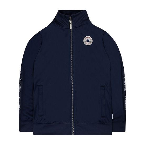 Converse Big Boys Lightweight Track Jacket