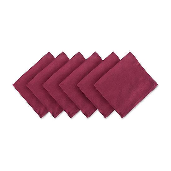 Design Imports Cotton 6-pc. Napkins