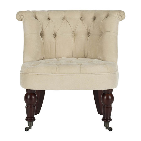 Safavieh Carlin Accent Tufted Club Chair, One Size , Beige