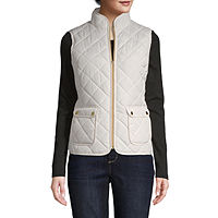 Deals on St. Johns Bay Womens Quilted Vest