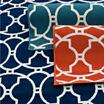 Momeni® Baja Circles Indoor/Outdoor Rectangular Rug