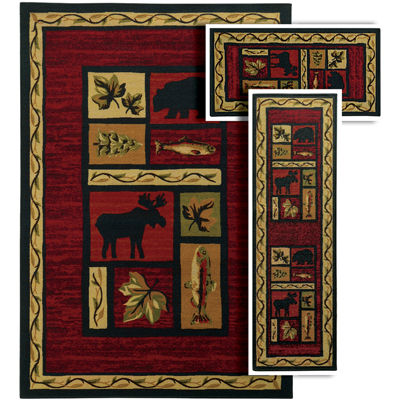 Covington Home Benton Woody 3-pc. Rug Set