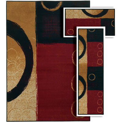 Covington Home Benton Jaden 3-pc. Rug Set