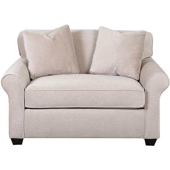 Sleeper Possibilities Roll-Arm Chair