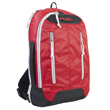 Fuel Active Crossbody Laptop Backpack in Red