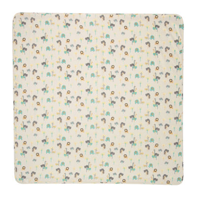 Trend Lab® Lullaby Jungle Deluxe Swaddle Blanket