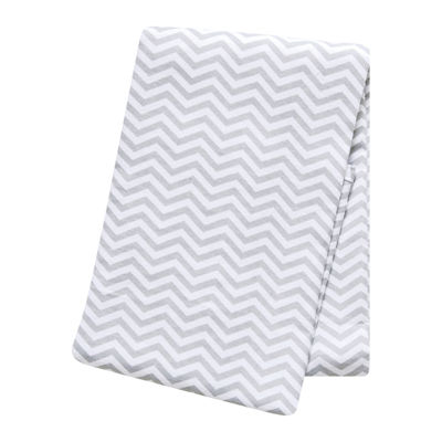 Trend Lab® Gray Chevron Deluxe Swaddle Blanket