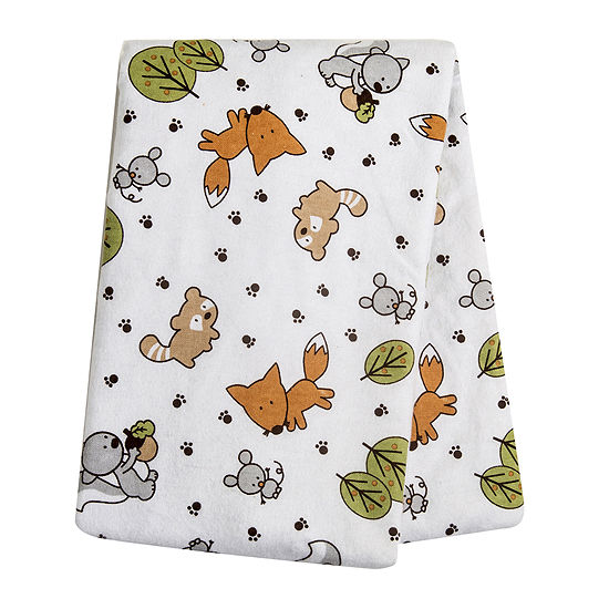 Trend Lab® Friendly Forest Deluxe Swaddle Blanket
