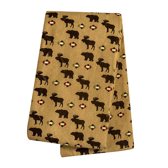 Trend Lab® Northwoods Animals Deluxe Swaddle Blanket