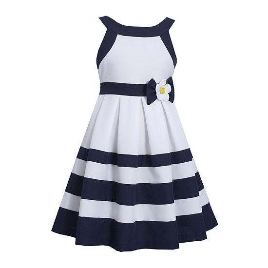 5d41cc0c64 Bonnie Jean® Nautical Dress - Girls 7-16 - JCPenney
