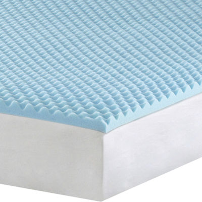 "1½"" Gel Memory Foam Mattress Topper"