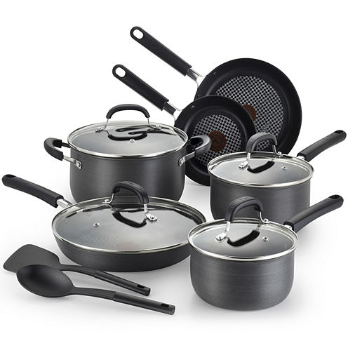 T-fal® Opticook 12-pc. Hard-Anodized Nonstick Cookware Set