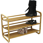 Oceanstar ® 3-Tier Bamboo Shoe Rack