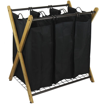 Oceanstar® 3-Bag Laundry Sorter