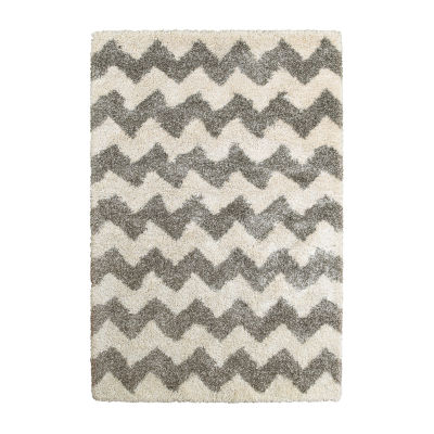 Covington Home Heath Chevron Rectangular Rugs
