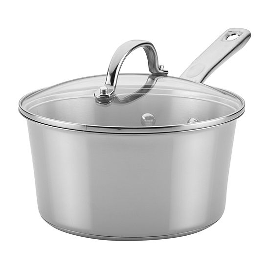 Ayesha Curry™ Home Collection 3-qt. Covered Sauce Pan