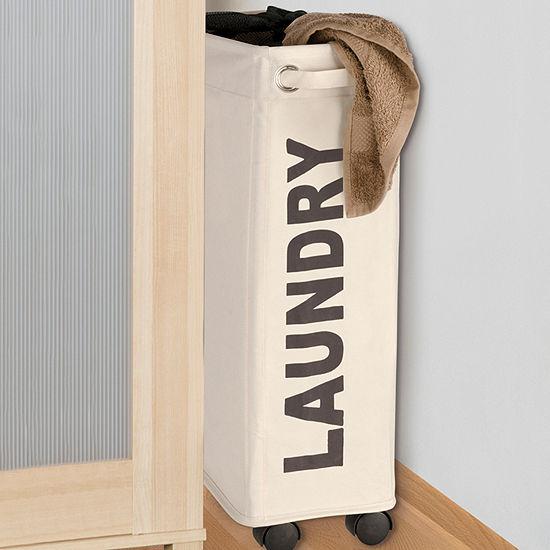 Wenko Slim-Line Corno Laundry Bin