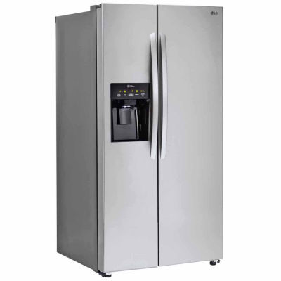 LG ENERGY STAR® 26.2 cu. ft. Ultra Capacity Side-By-Side Refrigerator