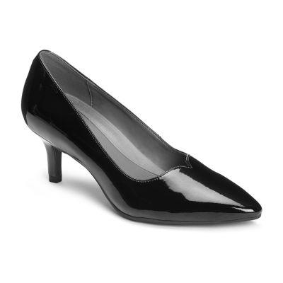 A2 by Aerosoles Womens Anagram Pumps Slip-on Pointed Toe Kitten Heel