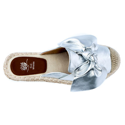 GC Shoes Womens Slip-on Closed Toe Ballet Flats