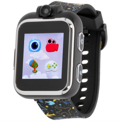 Itouch Boys Black Smart Watch-Ipz03485s06a-Blt