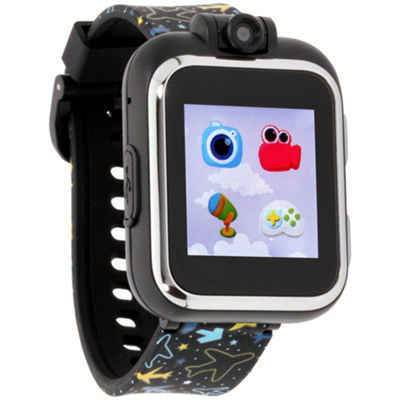 Itouch Playzoom Boys Black Smart Watch-Ipz03485s06a-Blt
