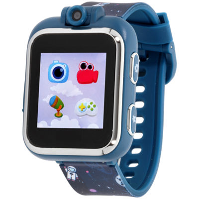 Itouch Playzoom Boys Blue Smart Watch-Ipz03484s06a-Nvp