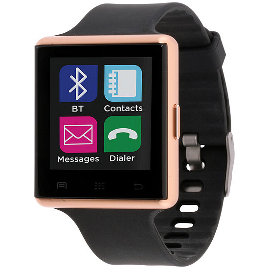 Itouch Air 2 Heart Rate Unisex Adult Digital Black Smart Watch-Ita34601r932-003