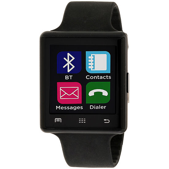Itouch Air 2 Heart Rate Mens Digital Black Smart Watch-Ita34601b932-003