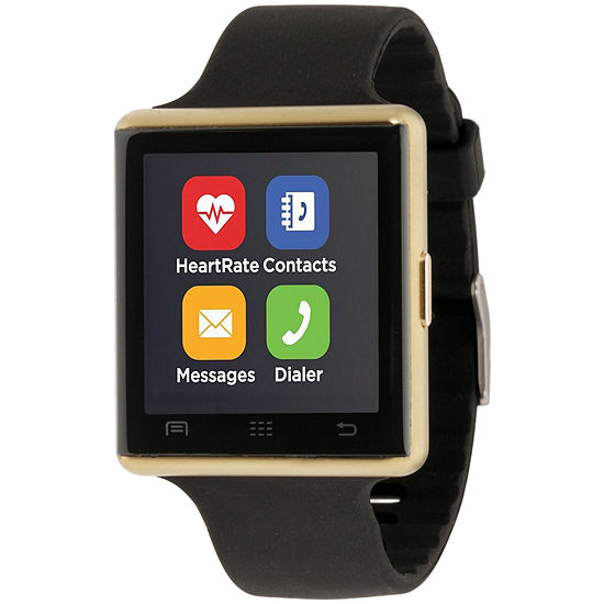 Itouch Air 2 Heart Rate Mens Multi-Function Black Smart Watch-Ita34601g932-003