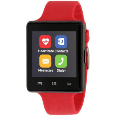 Itouch Air 2 Heart Rate Unisex Red Smart Watch-Ita34605b932-033