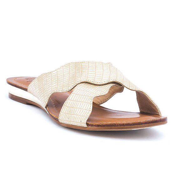 GC Shoes Womens Linsey Flat Sandals