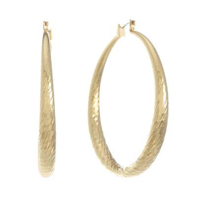 Monet Jewelry 53mm Hoop Earrings