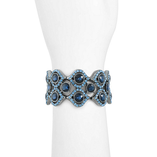 Monet Jewelry Blue Stretch Bracelet