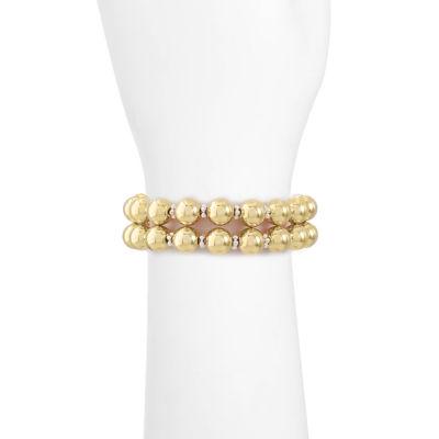 Liz Claiborne Womens 2-pc. Bracelet Set