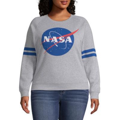 NASA Sweatshirt - Juniors Plus