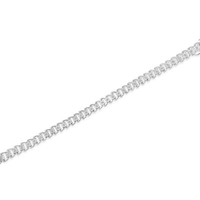 1/2 CT. T.W. White Diamond Sterling Silver 7 Inch Tennis Bracelet