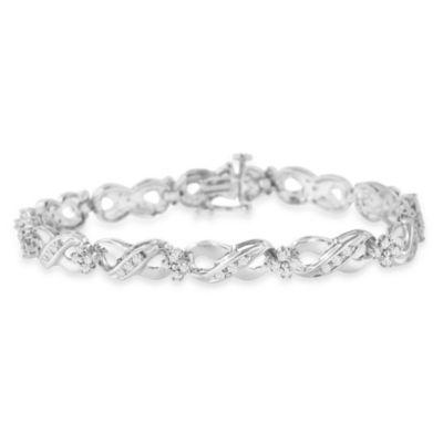 Sterling Silver 7 Inch Solid Link Bracelet