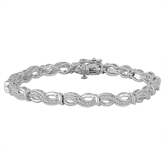 1 10 Ct T W Diamond Sterling Silver