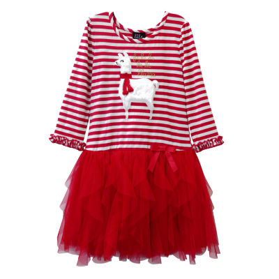 Lilt Long Sleeve Tutu Dress Girls