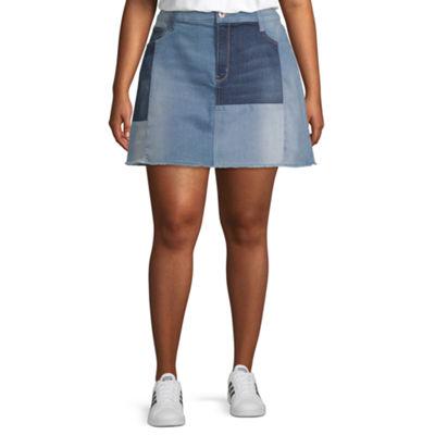 Arizona Denim Skirt Juniors Plus Jcpenney