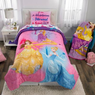 Disney Princess Ready To Explore Comforter Set Jcpenney