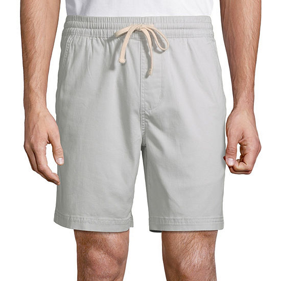 Arizona Mens Mid Rise Jogger Short