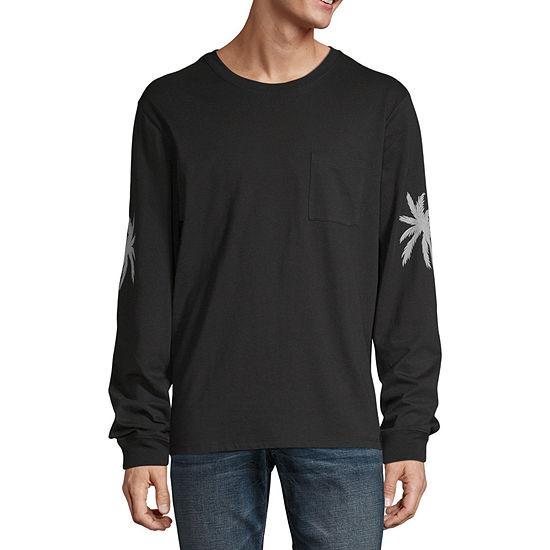 Arizona Mens Crew Neck Long Sleeve T-Shirt